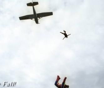 北海道スカイダイビングクラブ空楽舞落下傘