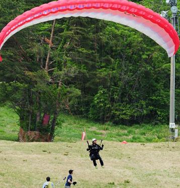 泉ヶ岳パラグライダースクール