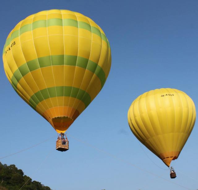 バンジートランポリン・熱気球 OAC