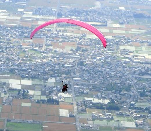 エアロクルーズ池田山パラグライダースクール