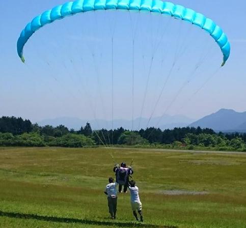 パラグライダーパーク青木