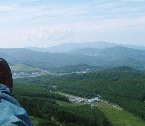 白樺湖スカイウェイパラグライダースクール
